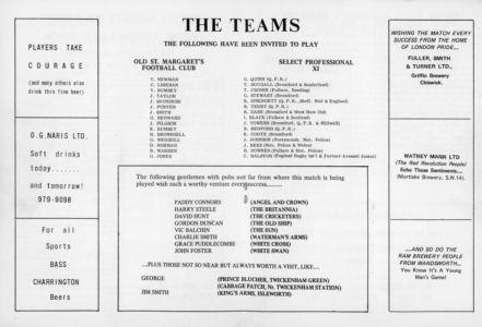 Football Programme 3