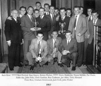 Football Team 1957