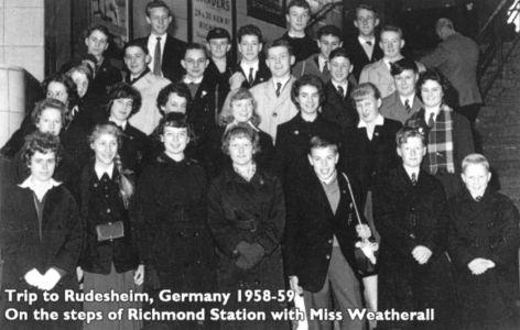 Grey Court Trip to Germany 1958