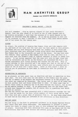 HAG1984-5 Annual Report 3