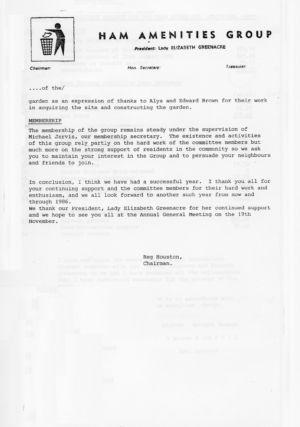 HAG1984-5 Annual Report 5