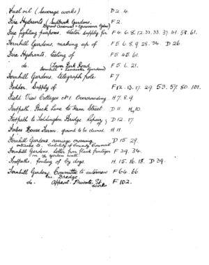 HDC Index 1930-1933 F