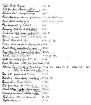 HDC Index 1930-1933 P