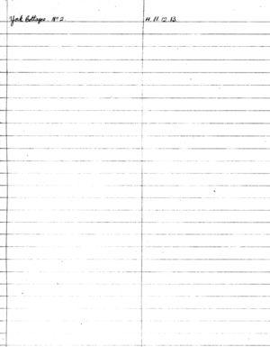 HDC Index 1930-1933 Y