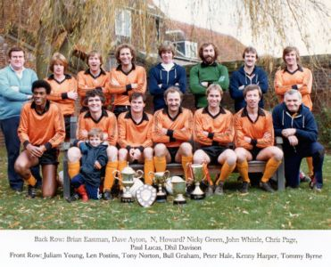 Ham FC 1981-82 2