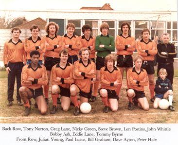 Ham FC 1981-82