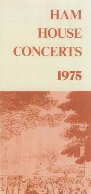 Ham House Concerts1975