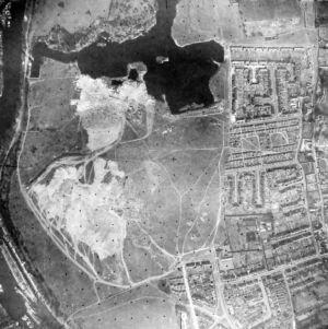 Ham Lands Aerial Aug 8th1956