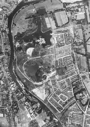 Ham Lands Aerial Jun 5th1951