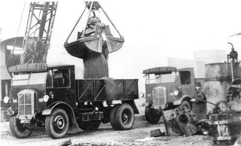 Ham River Grit Lorries 1930s