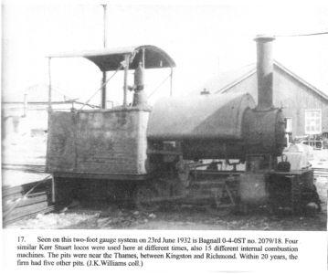 Ham River Grit loco 1932