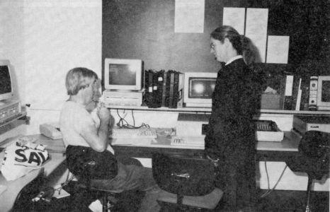Latchmere House Prison Computer Centre 1991