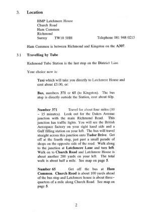 Latchmere House Prison Prospectus 1991 07