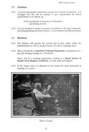 Latchmere House Prison Prospectus 1991 17