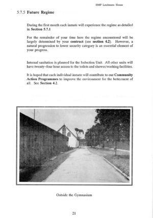 Latchmere House Prison Prospectus 1991 21