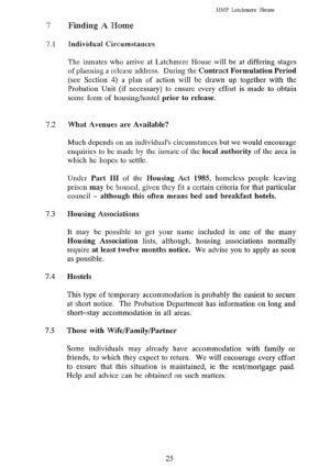 Latchmere House Prison Prospectus 1991 24