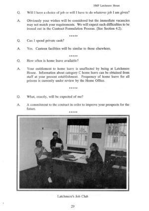 Latchmere House Prison Prospectus 1991 28