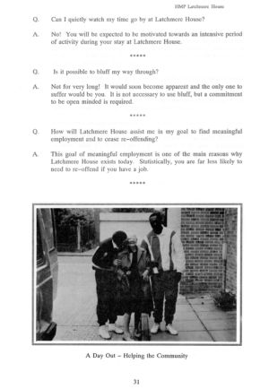 Latchmere House Prison Prospectus 1991 30