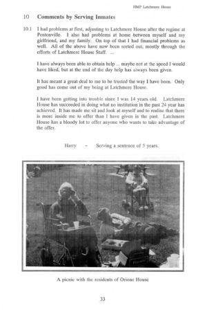 Latchmere House Prison Prospectus 1991 31