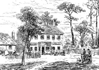 New Inn - Pen and Ink drawing