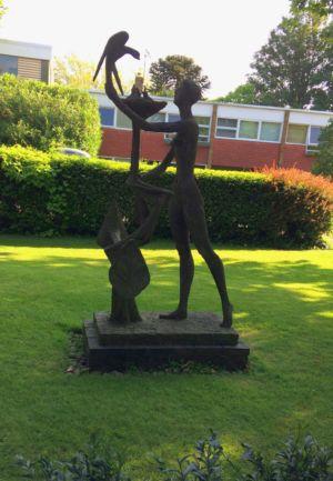 Pastorale sculpture 1 - Parkleys 2017